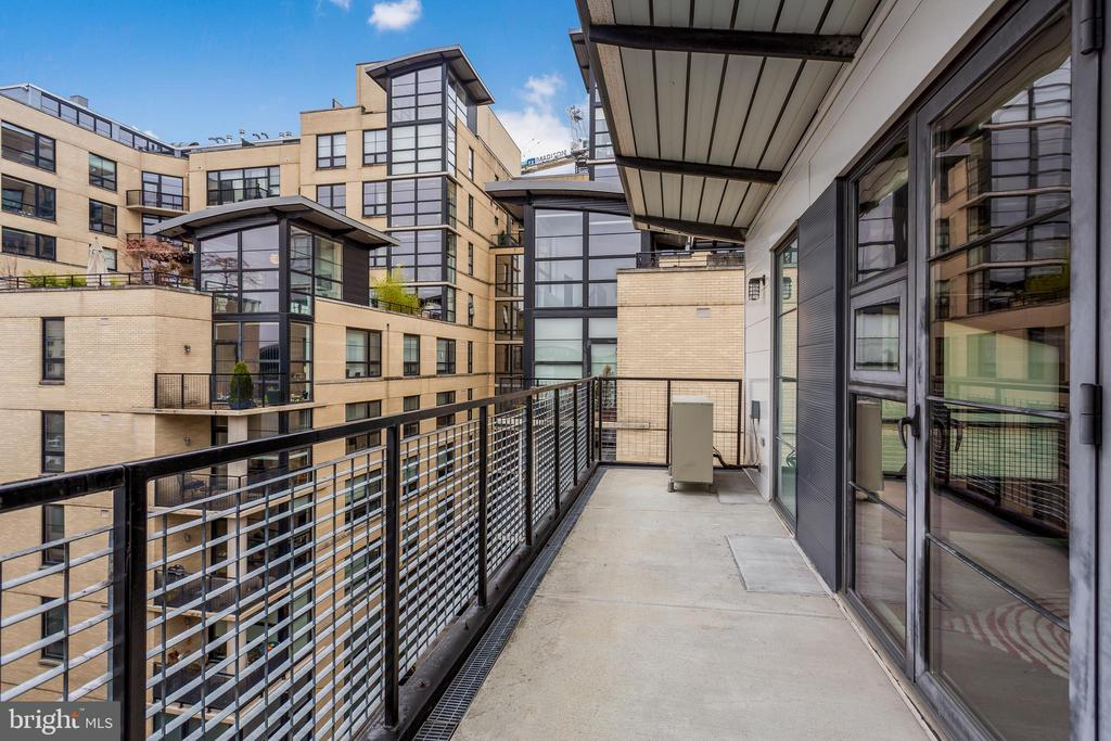 Private Outdoor Space - 2125 14TH ST NW #301W, WASHINGTON