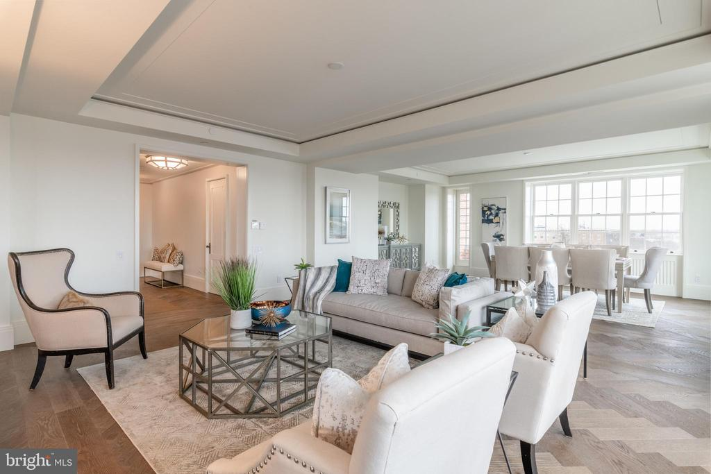 Harmonious Entertaining Spaces - 2660 CONNECTICUT AVE NW #5C, WASHINGTON