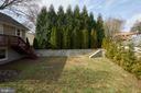 private landscape and stone work - 11006 HARRIET LN, KENSINGTON