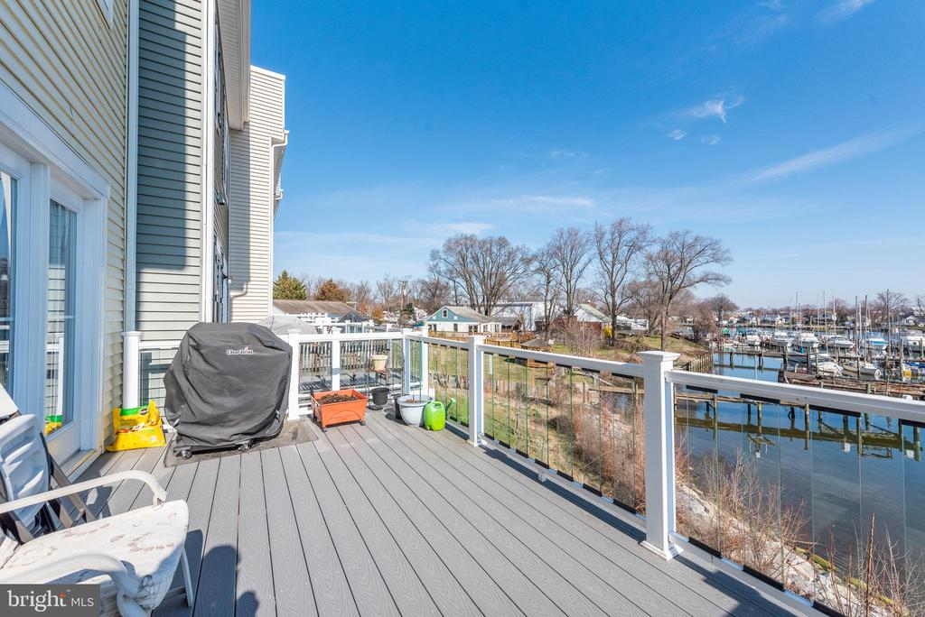 Deck View - 8208 SECLUDED COVE LN, DUNDALK