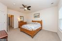 Master Bedroom - 8208 SECLUDED COVE LN, DUNDALK