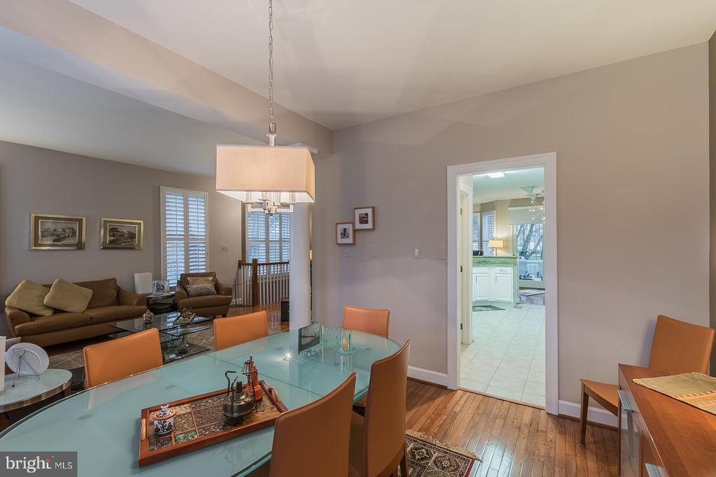 Dining room - 11485 WATERHAVEN CT, RESTON