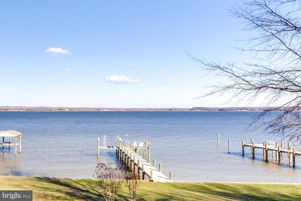 Private Pier with Boat Lift - 15798 LANCASTER FARM RD, NEWBURG