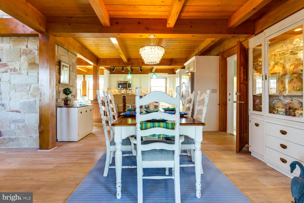 Kitchen is open to Dining Area - 15798 LANCASTER FARM RD, NEWBURG