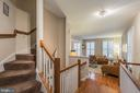 Stairs to Bedroom level - 11485 WATERHAVEN CT, RESTON