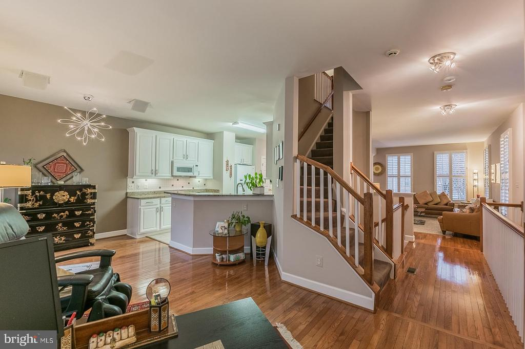 View from family room - 11485 WATERHAVEN CT, RESTON