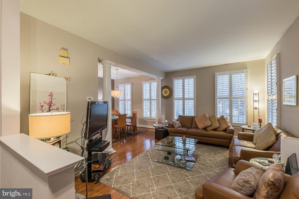 Formal living room - 11485 WATERHAVEN CT, RESTON