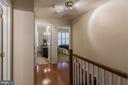 upper level hallway view - 11485 WATERHAVEN CT, RESTON