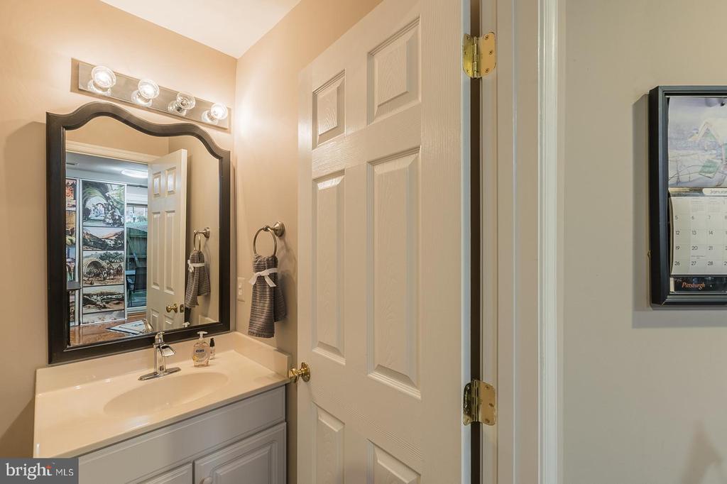 lower level half bath - 11485 WATERHAVEN CT, RESTON