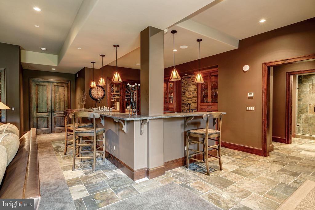 Recreation Room Bar - 8001 OVERHILL RD, BETHESDA