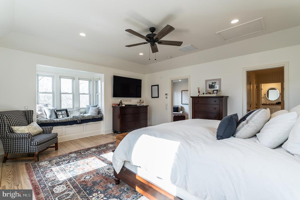 Bright and Cozy Master Bedroom - 23057 KIRK BRANCH RD, MIDDLEBURG