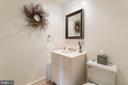 1 of 2 Main Level 1/2 bathrooms - 23057 KIRK BRANCH RD, MIDDLEBURG