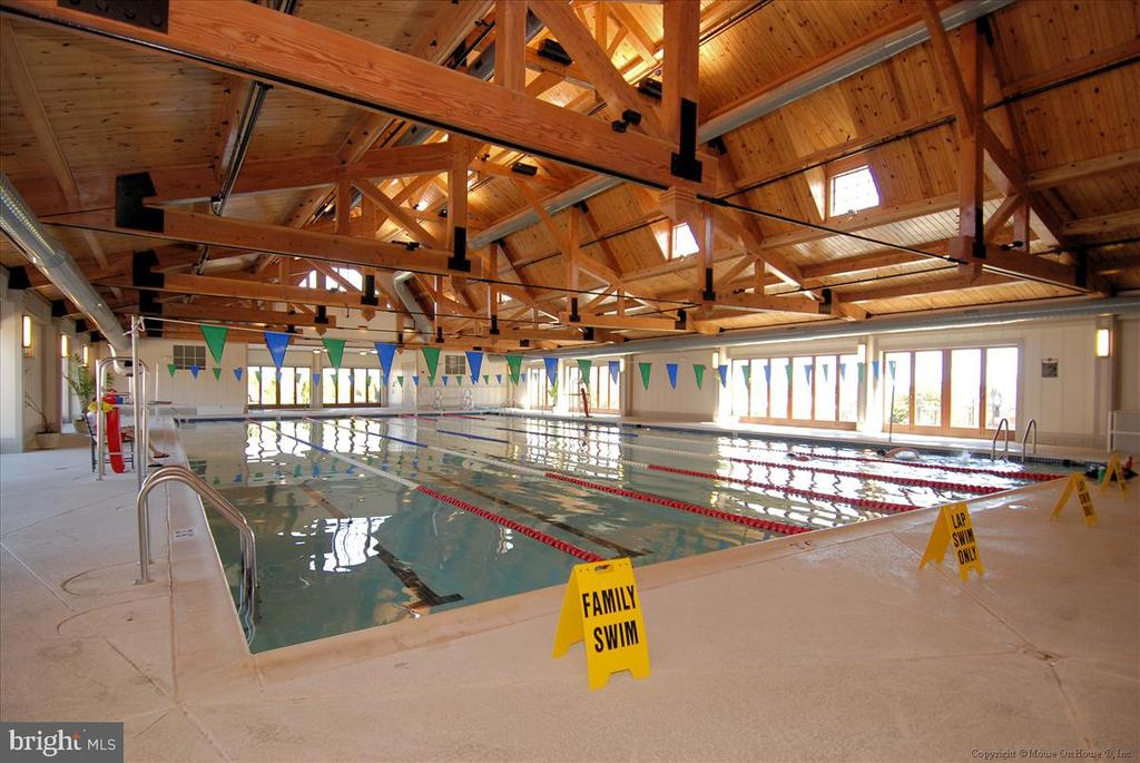 Indoor Pool at Lansdowne - 43168 HASBROUCK LN, LEESBURG