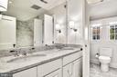 En suite Bathroom - 4 THOMPSON CIR NW, WASHINGTON