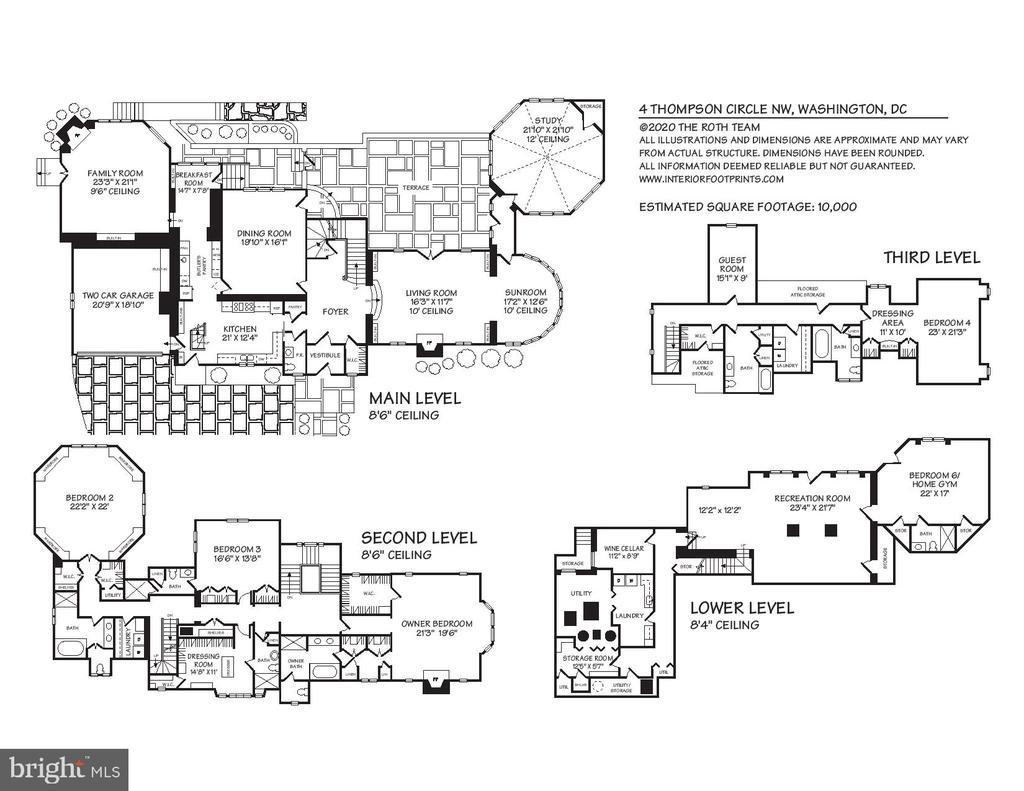 Floor Plan - 4 THOMPSON CIR NW, WASHINGTON
