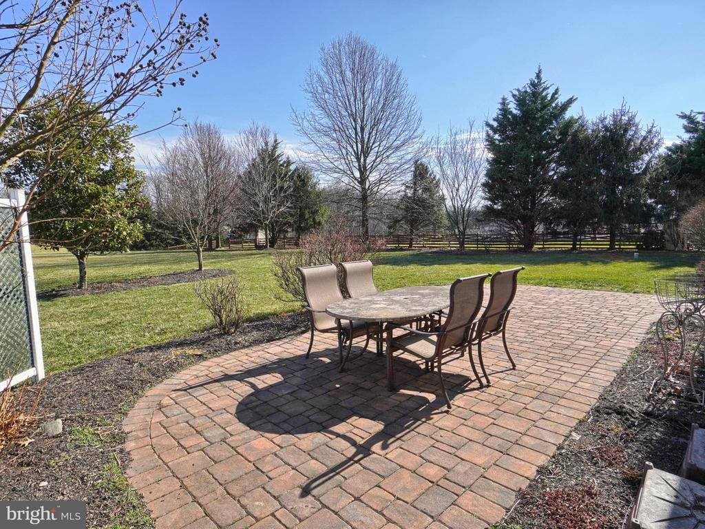 Rear Custom PaverPatio - 4803 TIMBER DR, MOUNT AIRY