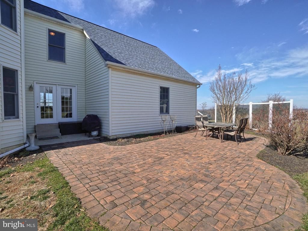 Rear Custom Patio - 4803 TIMBER DR, MOUNT AIRY