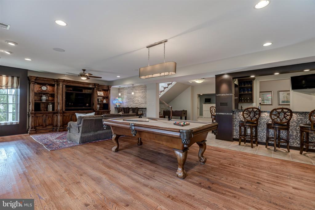Lower Level- Perfect for Entertaining - 8429 BROOK RD, MCLEAN