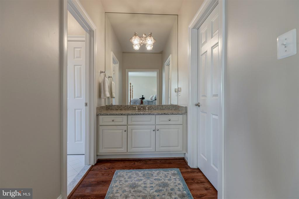 Upper Bedroom #2 Separate Vanity Area - 8429 BROOK RD, MCLEAN