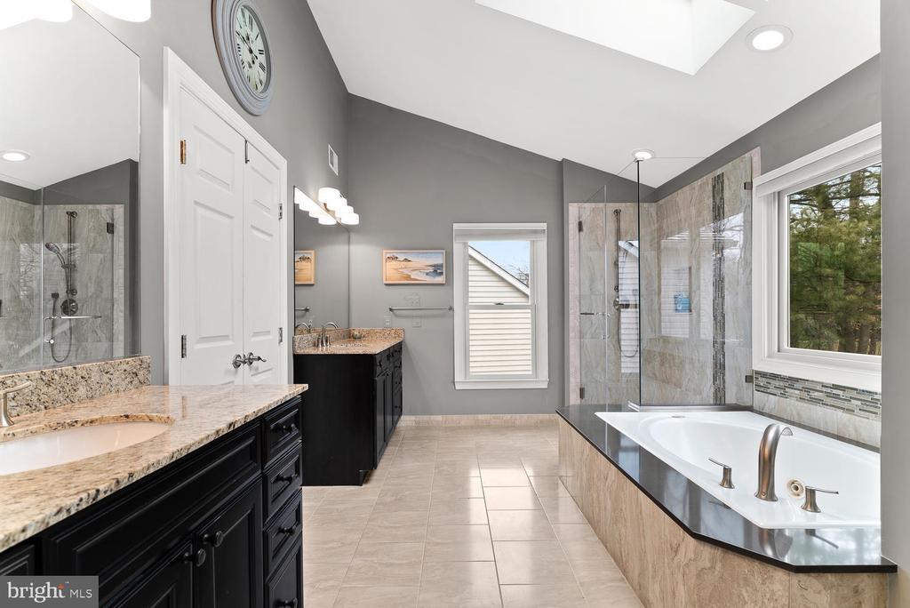 Owner's Bath- Separate Vanities - 17715 GLOBE THEATRE DR, OLNEY