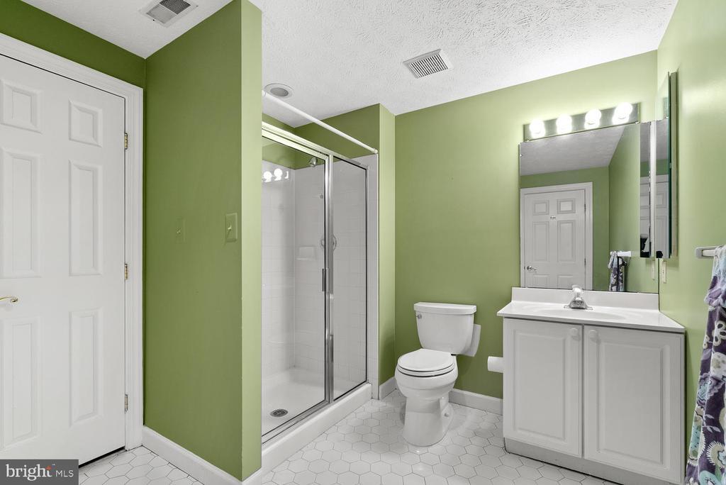 Basement Full Bath - 17715 GLOBE THEATRE DR, OLNEY