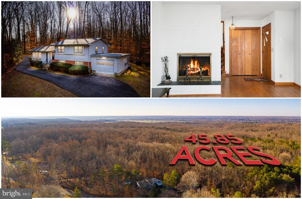 HOME ON 45PLUS ACRES IN FALMOUTH - 264 COLEBROOK RD, FREDERICKSBURG