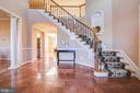 Grand Marble Foyer - 15611 RIDING STABLE RD, LAUREL
