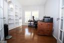 Main Level Study with Built In Bookcases - 42011 ZIRCON DR, ALDIE