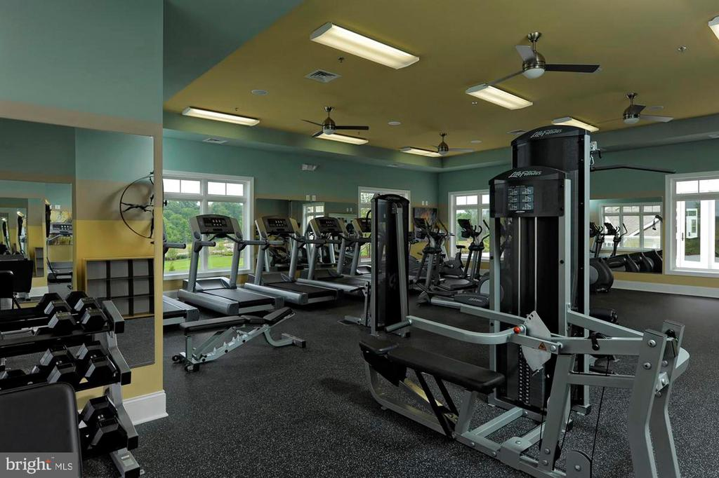 Community Fitness Gym - 23561 HOPEWELL MANOR TER, ASHBURN