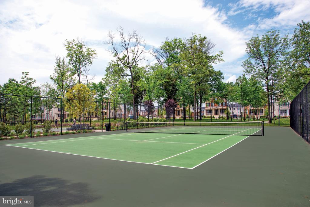 Community Tennis Courts - 23561 HOPEWELL MANOR TER, ASHBURN