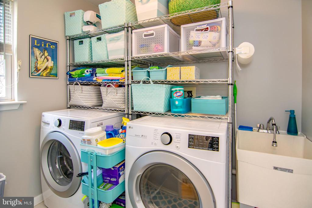 Main level laundry room! - 6477 EMPTY SONG RD, COLUMBIA