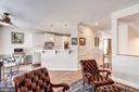 Main Level with Hardwood Floors and 9' Ceilings - 12086 KINSLEY PL, RESTON