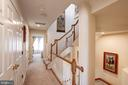 Hallway to 2nd Bedroom - 12086 KINSLEY PL, RESTON