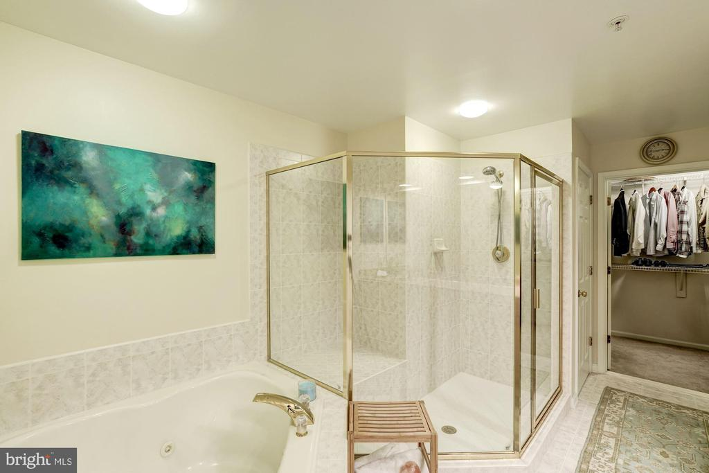 Three Side Glass Enclosed Shower - 12086 KINSLEY PL, RESTON