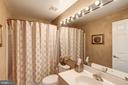 Full bath on 4th Level - 12086 KINSLEY PL, RESTON