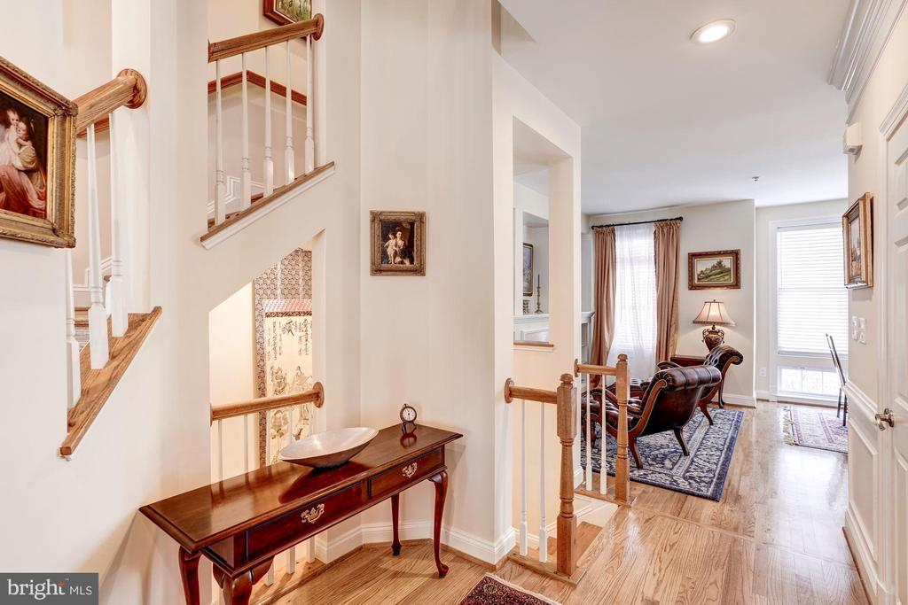 Open Staircase to Bedroom Level - 12086 KINSLEY PL, RESTON