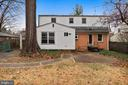 Rear elevation - 1219 PINECREST CIR, SILVER SPRING
