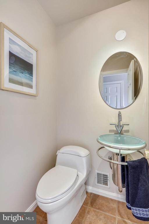1st floor powder room - 1219 PINECREST CIR, SILVER SPRING