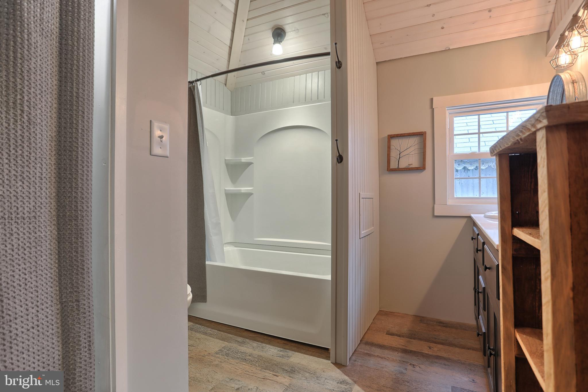 NEW BATHROOM, floors, tub/shower, vanity