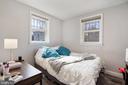Unit #1 upper level bedroom - 1932 15TH ST NW, WASHINGTON