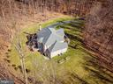 Aerial View - Surrounded by Trees & Privacy - 8108 SPRUCE VALLEY LN, CLIFTON