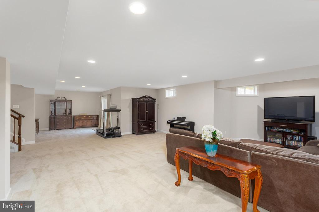 Recreation Room - 8108 SPRUCE VALLEY LN, CLIFTON