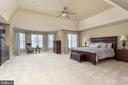 Luxury Master Bedroom Suite & Sitting Area - 8108 SPRUCE VALLEY LN, CLIFTON