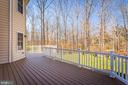 New Entertainment Trex Deck - 8108 SPRUCE VALLEY LN, CLIFTON