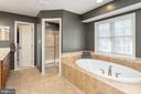 Master Bath with raised Soaking Tub - 8108 SPRUCE VALLEY LN, CLIFTON