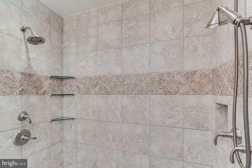 Shower in the Master Bath - 10907 WATERMILL CT, OAKTON
