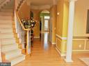 Elegant Winding Stairs - 18749 UPPER MEADOW DR, LEESBURG