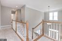 Upper Hallway & Landing - 12184 HICKORY KNOLL PL, FAIRFAX