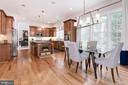 Kitchen Open & Bright - 12184 HICKORY KNOLL PL, FAIRFAX