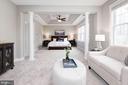 Tranquil Master Bedroom - 12184 HICKORY KNOLL PL, FAIRFAX